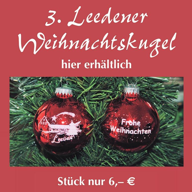 3. Leedener Weihnachtskugel